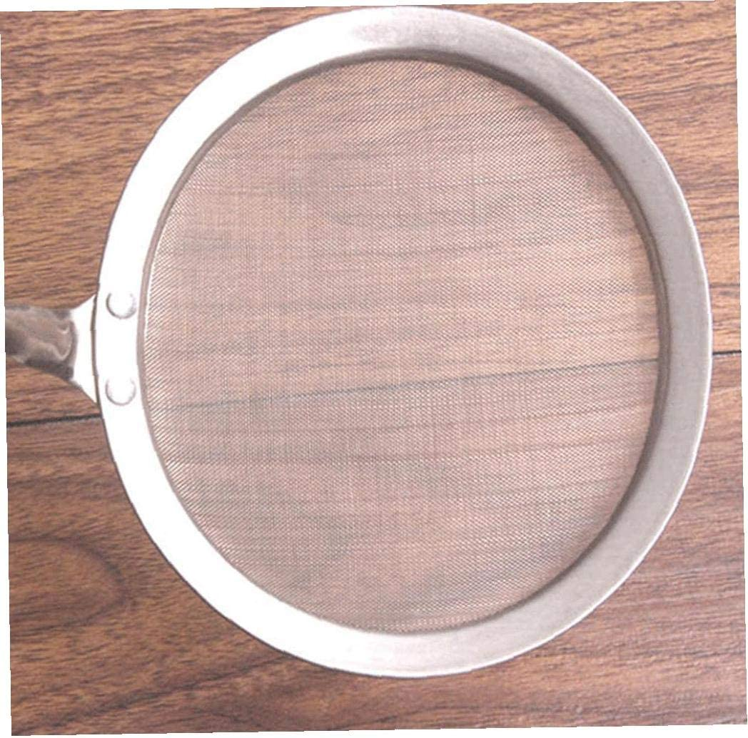 Kitchen Skimmer Multi Function Metal Cookware Net Portable Skimmer Baking Frying Filter Strainer Tool