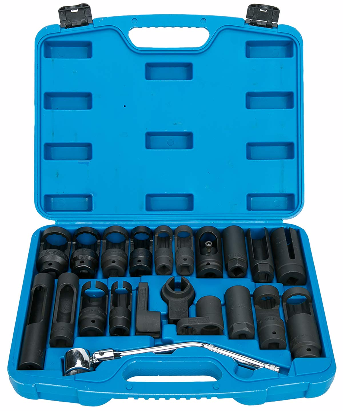 8MILELAKE 21pcs Oxygen Sensor Socket Set Sensor Oil Pressure Sending Unit Socket Set by 8MILELAKE (Image #1)