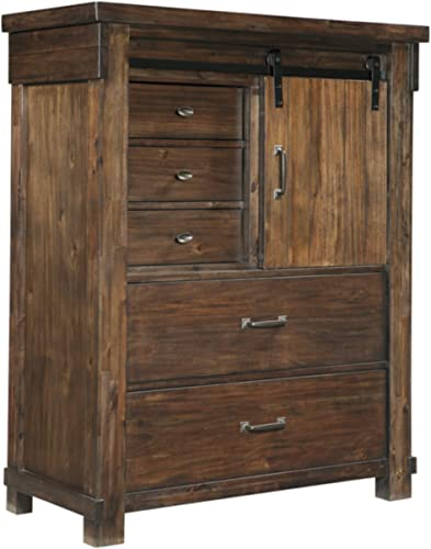 Ashley Furniture Signature Design – Lakeleigh Chest of Drawers – Brown