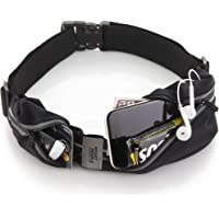 Sport2People Running Belt USA Patented - Fanny Pack for Hands-Free Workout - iPhone X 6 7 8 Plus Buddy Pouch for Runners…