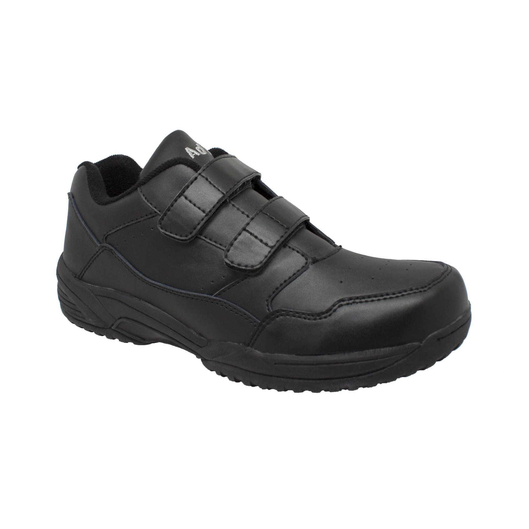 AdTec Black Slip-Resistant Shoes by Adtec