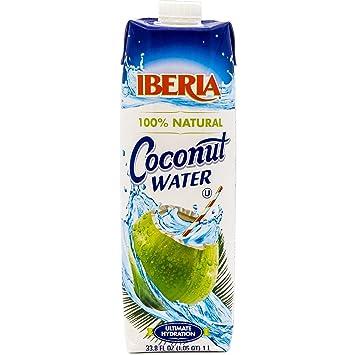 Iberia Coconut Water 338 Fl Oz 1 Liter 100 Natural