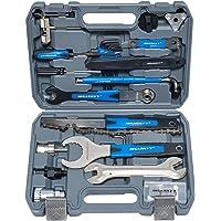 Fietsreparatieset, multifunctioneel gereedschap, gereedschapskoffer, 51-delig, fietsreparaties