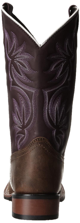 Laredo Women's Gorge 10 Western Boot B009LLY10Y 10 Gorge B(M) US|Tan/Purple 1622ff