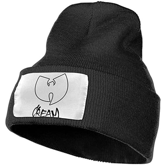 ece6e7402b13d Image Unavailable. Image not available for. Color  WU Tang Clan Unisex Winter  Hats Skull Caps Knit ...