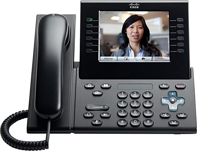 CP-9971-C-K9= Cisco Unified Voip 9971 Phone Charcoal