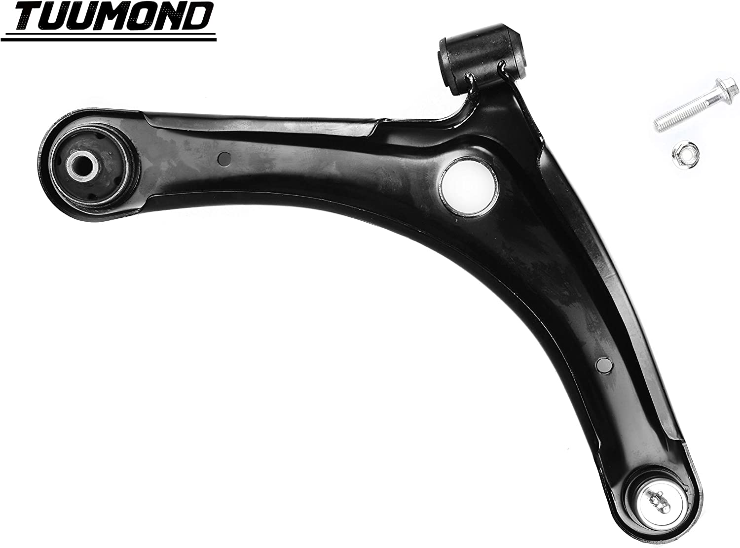 TUUMOND Front Lower Control Arms with Ball Joint Bushing for 2007-2012 Dodge Caliber 2007-2014 Jeep Compass 2007-2014 Jeep Patriot Front Suspension Both Driver and Passenger Side K620066 K620065