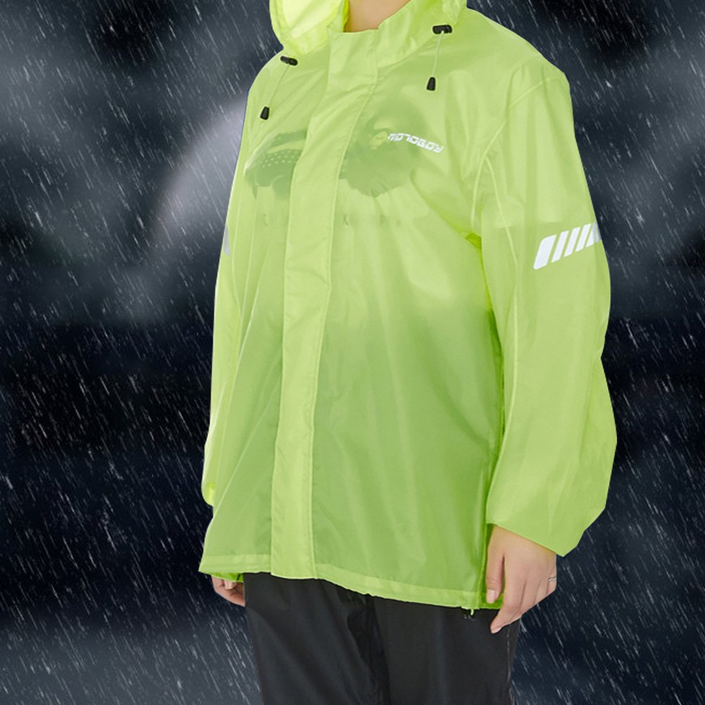 Amazon.com: Traje de lluvia para motocicleta, impermeable ...