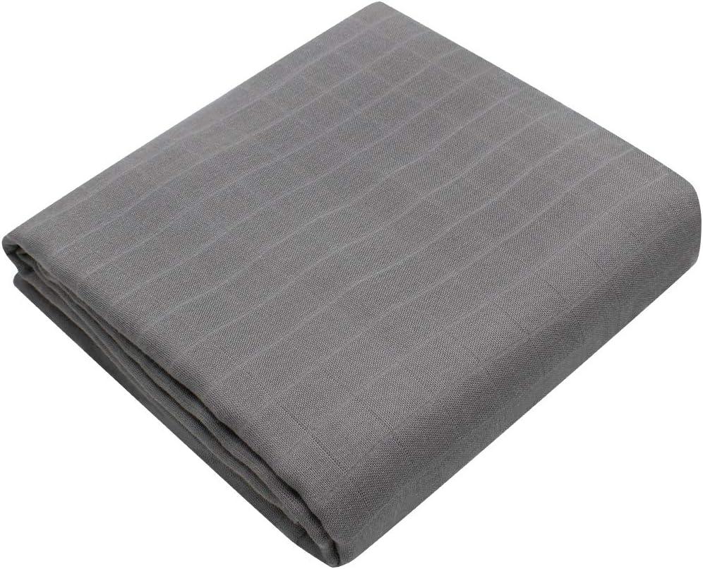 120x120 cm Couvertures pour B/éb/é LifeTree Couvertures d/'emmaillotage pour B/éb/é Douce Ultra Couvertures de Mousseline