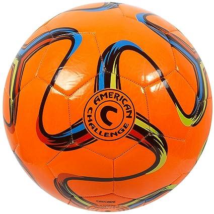 American Challenge Brasilia balón de fútbol, Anaranjado: Amazon.es ...