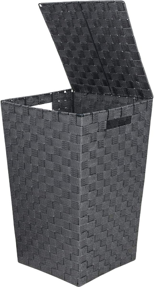 Home Impressions 13 In. x 20.5 In. H. Woven Laundry Hamper, Gray - 1 Each