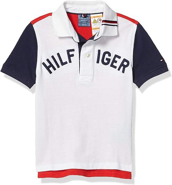 Tommy Hilfiger - Polo adaptativo para niño con botones magnéticos ...