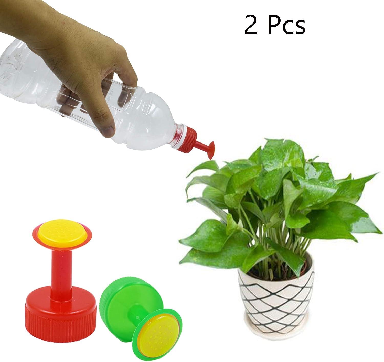 LiXiongBao Bottle Top Waterers Sprayers Bottle Cap Sprinklers Vegetables Mist Nozzle Head Home Gardening Plants Mini Sprinkler Sprayer Head Bottle Watering Spout for Seedlings Bonsai Flower Watering