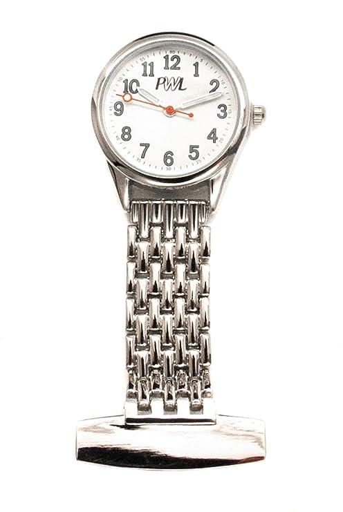 County Engraving Personalizado Plata Enfermera Cuidadores Reloj de Grabado con Nombre Libre