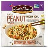 Annie Chun's Peanut Sesame Noodle Bowl | Non-GMO, Vegan, Shelf-Stable, 8.7 Ounce (Pack of 6) | Thai-Style Microwaveable Ready