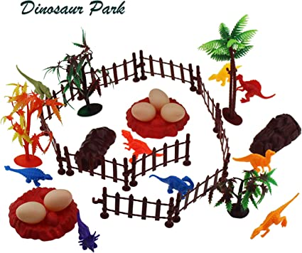 Amazon Com Tipmant Realistic Cartoon Dinosaur Park Play Sets With Trees 13 Dinosaurs Rocks Eggs Kids Toddler Educational Playsets Toys Toys Games ✓ free for commercial use ✓ high quality images. amazon com