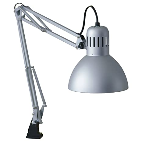 Ikea Tertial Work Lamp Silver Color Amazon Com