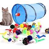 M JJYPET Cat Toys Kitten Toys Assortments,Crinkle Balls for Cat,Kitty,Kitten