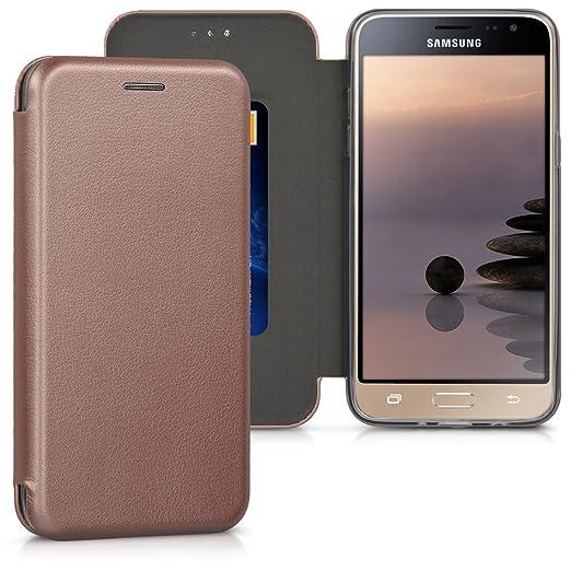 3 opinioni per kwmobile Custodia per Samsung Galaxy J5 (2016) DUOS- Cover a libro in simil
