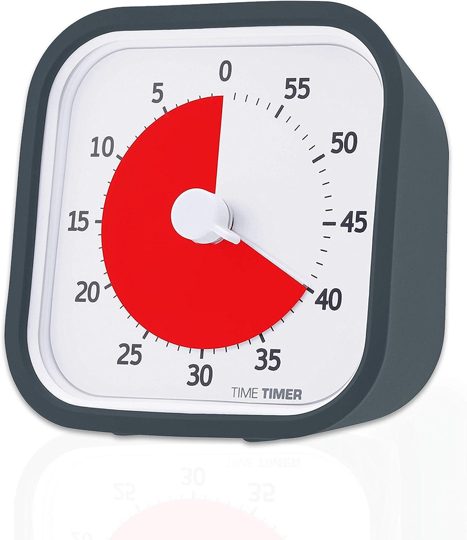 Amazon | 【正規品】TIME TIMER タイムタイマー モッド 9cm 60分 チャコールグレイ TTM9-W 時間管理 | おもちゃ |  おもちゃ