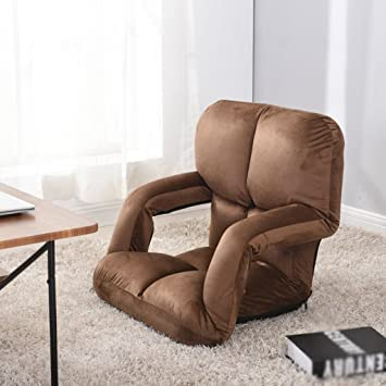 Amazon.com: Beanbag, With armrests Bed Armchair Computer chair No ...