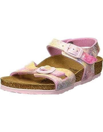 7a868b3d06030 Birkenstock Girls' Rio Ankle Strap Sandals