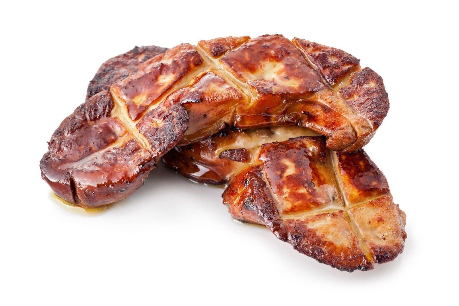 Hudson Valley Flash-Frozen Foie Gras Slices, Raw 16 2-oz Slices