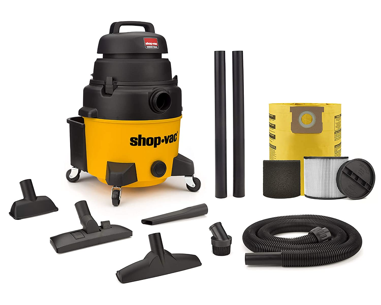 Shop-Vac 9258010 8 Gallon 6.0-Peak HP Industrial Wet/Dry Vacuum