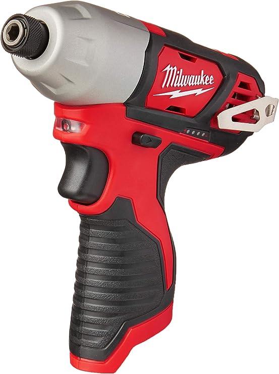 "MILWAUKEE M12BD-201C M12BD-0 M12 12 V 1//4/"" Tournevis batterie 2AH"