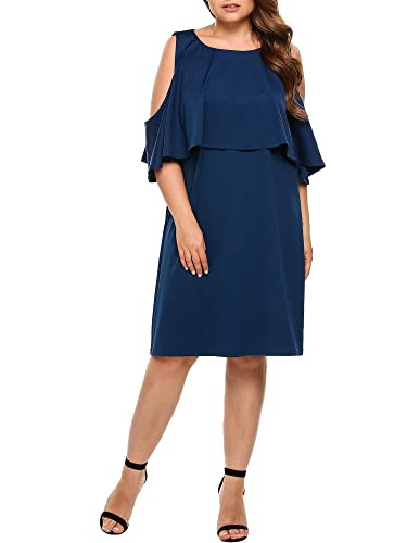 Women Plus Size Summer Cold Sh...