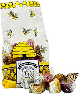 product image for Queen Bee Gardens Natural Honey Caramel Pralines Candy Chews – 5.87 oz – Beehive Blend