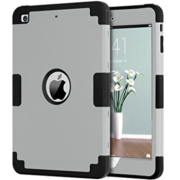 Fundas iPad mini 2, Funda ipad Mini Case, Fundas ipad Mini 3, BENTOBEN Carcasa Cover Case Anti-deslizante Anti-golpes Anti-resistente Silicona PC ...