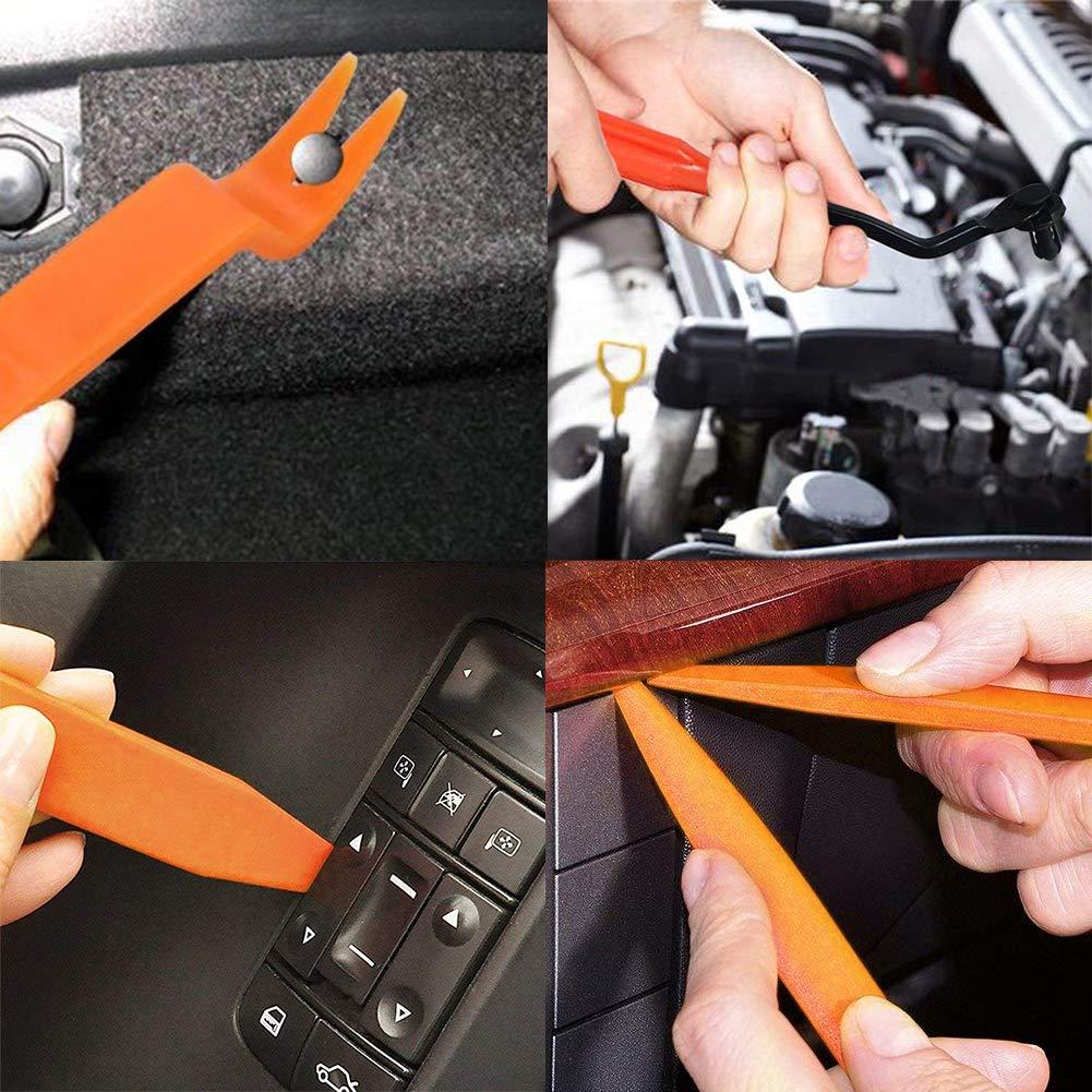 fissaggio a pressione rivetti in plastica Clip universali per auto borchie clip di fissaggio per auto 447 pezzi in nylon clip per carena portiera set di viti a scatto