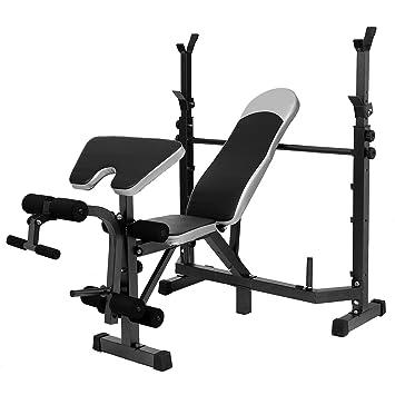 Multiestación de ajustable olímpico de peso banco de entrenamiento con ejercicio de musculación adultos para gimnasio o uso doméstico [nos Stock]: ...