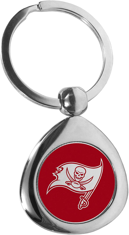 Siskiyou NFL Unisex Round Teardrop Key Chain