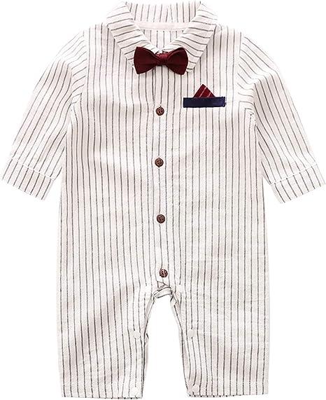 Amazon.com: D.B.PRINCE - Pelele de algodón para bebé recién ...
