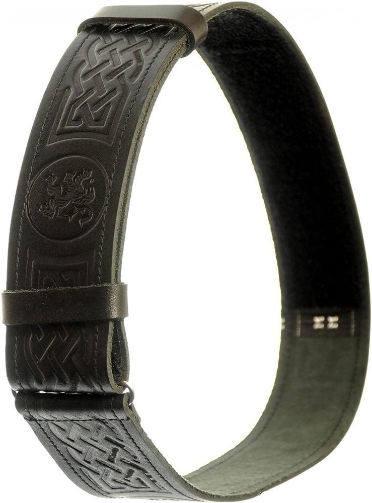 Reloj para hombre cinturón de piel de para falda escocesa, diseño ...