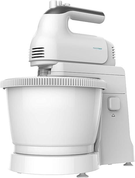 Cecotec PowerTwist 500 Gyro - Batidora de Pie, 500W, 3,5 L de Capacidad, 5 Niveles de Velocidad, Función Turbo y 3 Accesorios, Libre de BPA: Amazon.es: Hogar