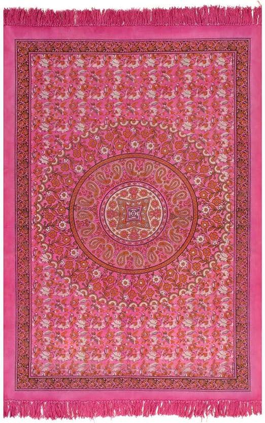XINGLIEU - Alfombra Kilim de algodón, 120 x 180 cm, Color Fucsia ...