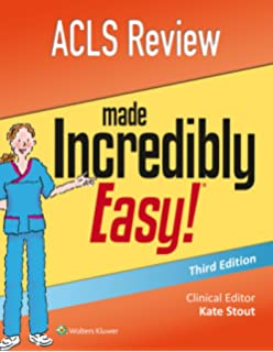 Advanced cardiovascular life support provider manual acls review made incredibly easy incredibly easy series fandeluxe Image collections