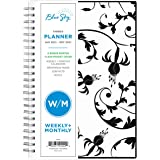"Blue Sky 2021 Weekly & Monthly Planner, Flexible Cover, Twin-Wire Binding, 5"" x 8"", Analeis (124092)"