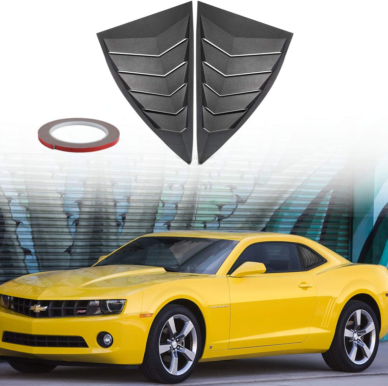 Multiple Colors Side Vent Quarter Decals For Camaro SS RS FREE SHIPPING