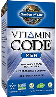 Amazoncom Garden of Life Vegetarian Multivitamin Supplement for