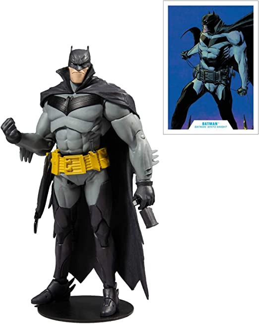 WHITE KNIGHT AZBAT 18CM ACTION FIGURE DC MULTIVERSE BATMAN