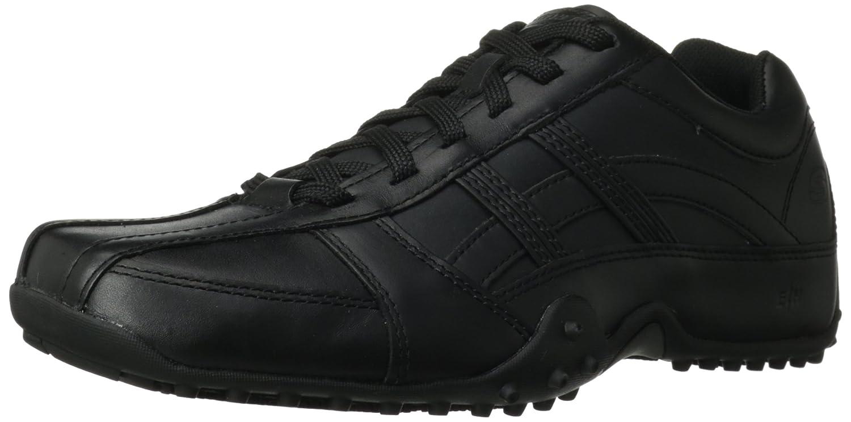new style 6ec2d 037e4 Amazon.com  Skechers for Work Men s Rockland Systemic Slip Resistant  Lace-Up Shoe  Shoes