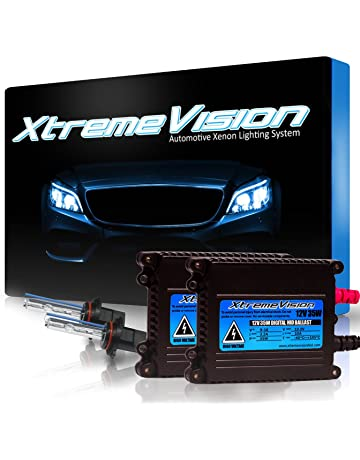 XtremeVision 35W Xenon HID Lights with Premium Slim Ballast - 9005 30000K - 30K Deep Blue