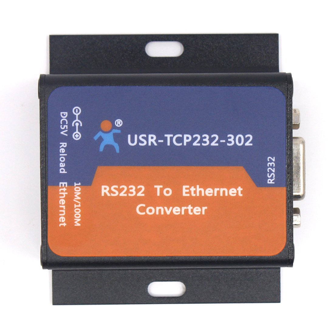 Serial Device Server RS232 Ethernet Converter with DHCP DNS USR-TCP232-302