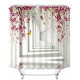 Shower Curtain , Botrong Kids Waterproof 3D