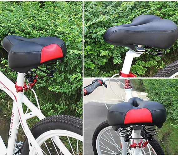 WR/_ Plastic BMX Bike Hollow Saddle Pad Seat Bicycle Cycling MTB Mountain Road Cu