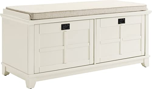 Crosley Furniture Adler Entryway Bench – White